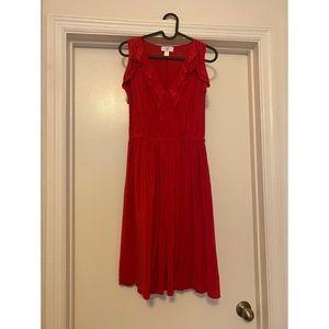 💘🤎ann taylor 100% SILK dress